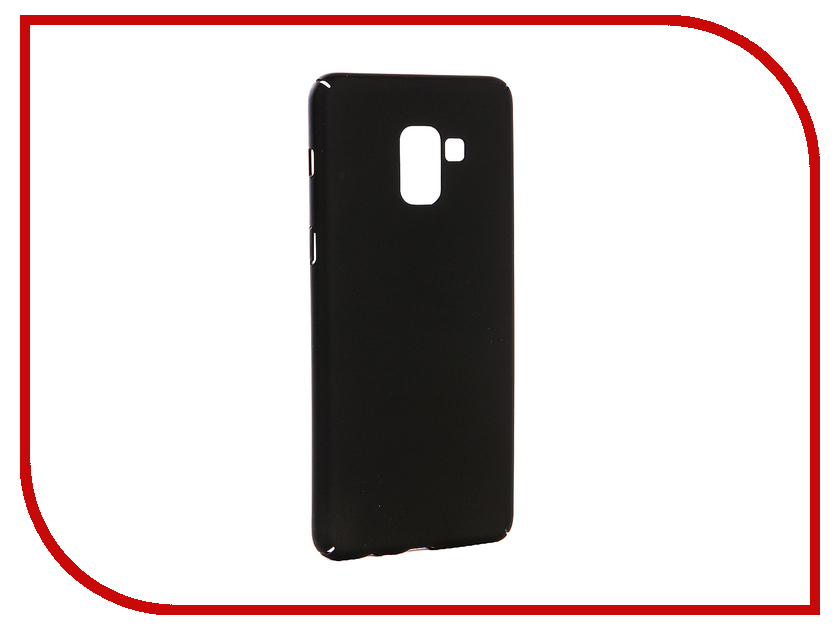Аксессуар Чехол-накладка для Samsung Galaxy A8 Plus 2018 Gecko Hard Plastic Black PL-K-SAMA8+-BL чехол на сиденье autoprofi gob 1105 bl romb m