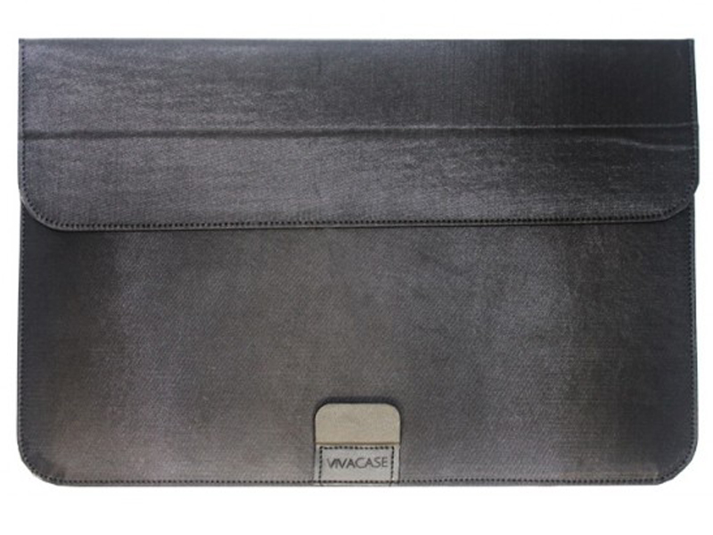 Аксессуар Чехол-папка 12-13.3-inch Vivacase Business для MacBook Air Black VCN-FBS15-bl цена
