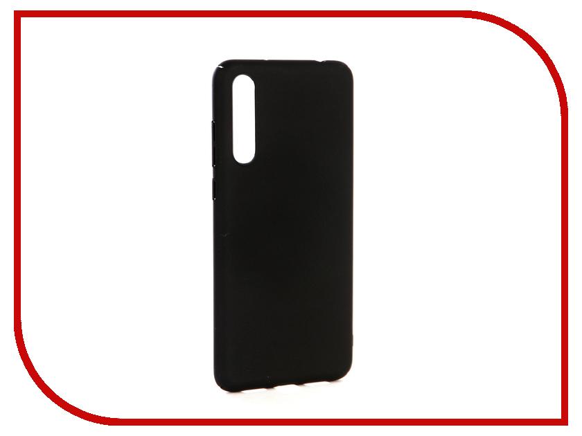 Аксессуар Чехол-накладка для Huawei P20 Plus Gecko Hard Plastic Black PL-K-HUHP20+-BL чехол на сиденье autoprofi gob 1105 bl romb m