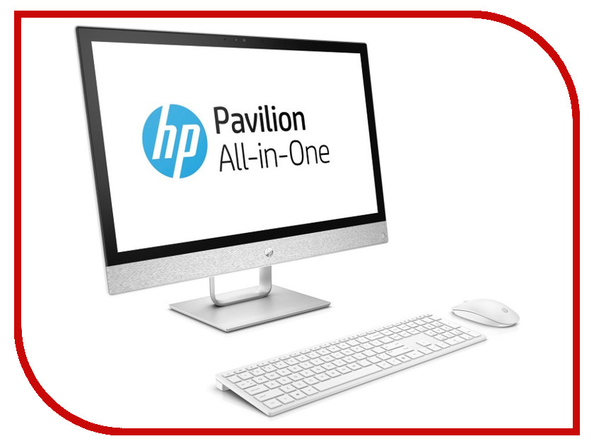 Моноблок HP Pavilion 24-r109ur 4GM34EA Blizzard White (Intel Core i5-8400T 1.7 GHz/8192Mb/1000Gb/DVD-RW/Intel HD Graphics/Wi-Fi/23.8/1920x1080/DOS) sheli laptop motherboard for hp pavilion dv6 7000 682169 001 48 4st10 021 ddr3 gt630m 1gb non integrated graphics card