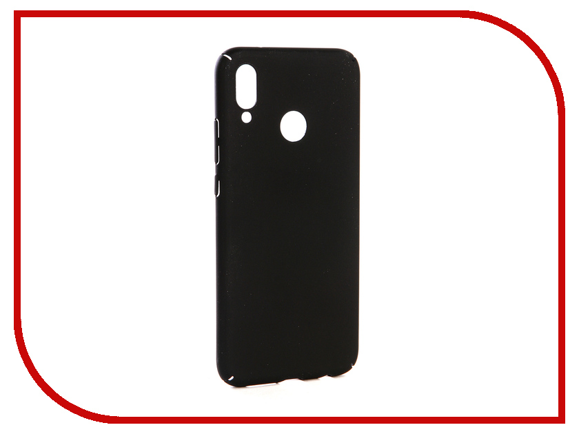 Аксессуар Чехол-накладка для Huawei P20 Lite Gecko Hard Plastic Black PL-K-HUHP20Lite-BL чехол на сиденье autoprofi gob 1105 bl romb m