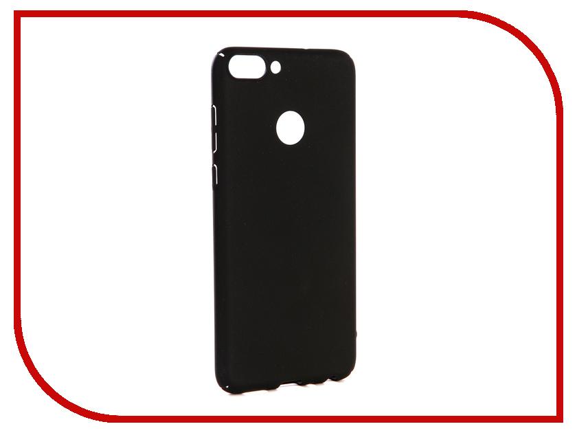 Аксессуар Чехол-накладка для Huawei P Smart Gecko Hard Plastic Black PL-K-HUHPSM-BL чехол на сиденье autoprofi gob 1105 bl romb m