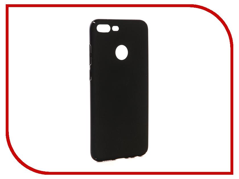 Аксессуар Чехол-накладка для Huawei Honor 9 Lite Gecko Hard Plastic Black PL-K-HUH9Lite-BL чехол на сиденье autoprofi gob 1105 bl romb m