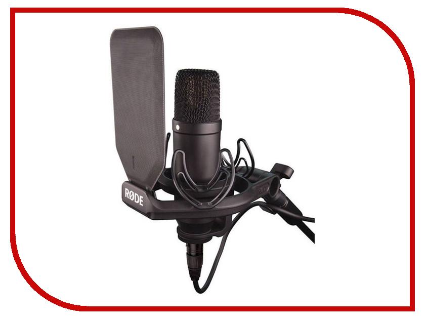 Микрофон Rode NT1-S KIT микрофонная удочка rode boompole