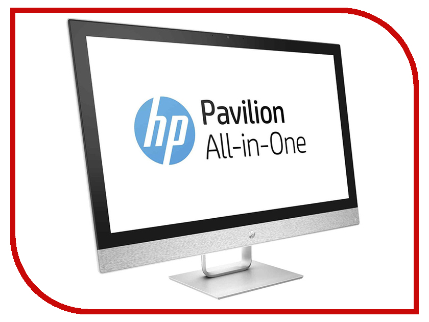 Моноблок HP Pavilion 27-r108ur 4GZ67EA Blizzard White (Intel Core i3-8100T 3.1 GHz/8192Mb/1000Gb + 128Gb SSD/No ODD/AMD Radeon R530 2048Mb/Wi-Fi/27.0/1920x1080/Windows 10 64-bit) моноблок lenovo ideacentre aio 520 24iku ms silver f0d2003urk intel core i5 7200u 2 5 ghz 8192mb 1000gb dvd rw intel hd graphics wi fi bluetooth cam 23 8 1920x1080 dos