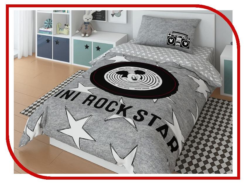 Постельное белье Disney Rock star Комплект 1.5 спальный 720608 постельное белье disney rock star комплект 1 5 спальный 720608
