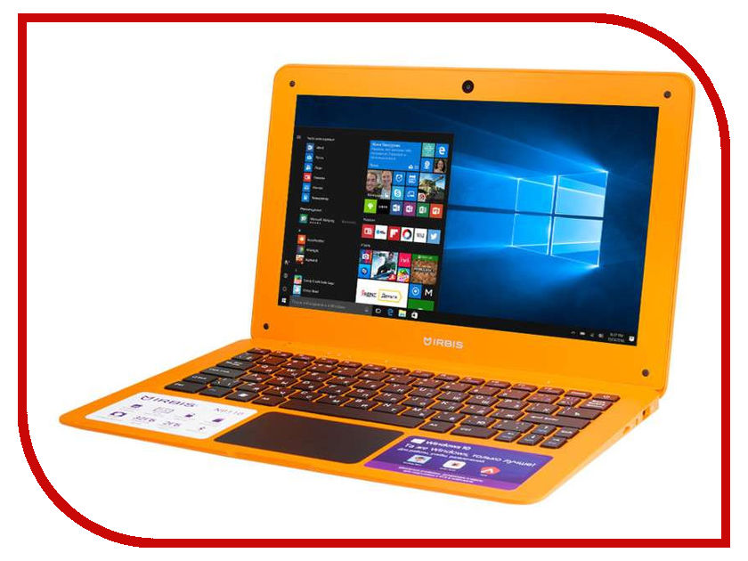 Ноутбук Irbis NB110O Orange (Intel Atom Z8350 1.44 GHz/2048Mb/32Gb/Intel HD Graphics/Wi-Fi/Bluetooth/Cam/11.6/1920x1080/Windows 10) ноутбук hp x2 10 p000ur y3w57ea intel atom x5 z8350 1 44 ghz 2048mb 32gb ssd no odd intel hd graphics wi fi cam 10 1 1280x800 touchscreen windows 10