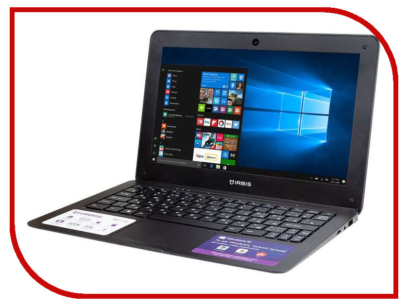 Ноутбук Irbis NB110X Black (Intel Atom Z8350 1.44 GHz/2048Mb/32Gb/Intel HD Graphics/Wi-Fi/Bluetooth/Cam/11.6/1920x1080/Windows 10) ноутбук digma citi e400 black es4003ew intel atom x5 z8350 1 44 ghz 4096mb 32gb intel hd graphics wi fi bluetooth cam 14 1 1920x1080 windows 10