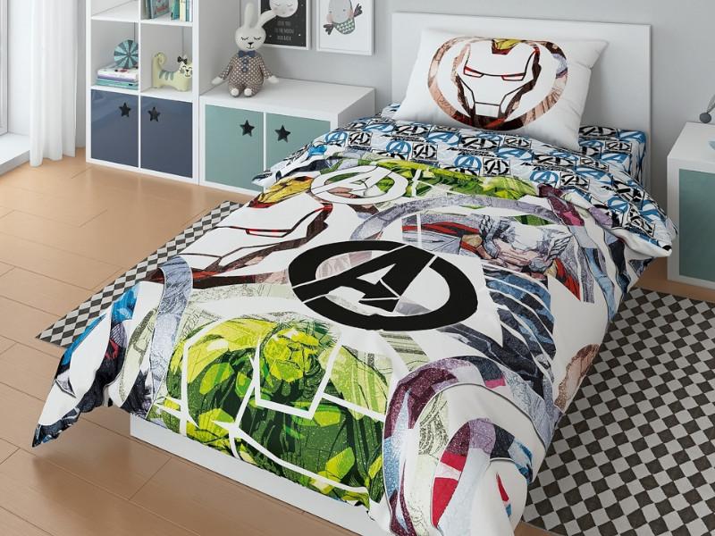 Постельное белье Marvel Avengers Command Комплект 1.5 спальный 724744