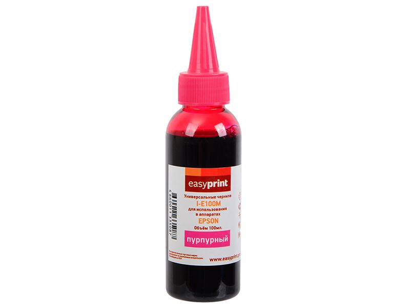 Чернила EasyPrint I-E100M Magenta для Epson