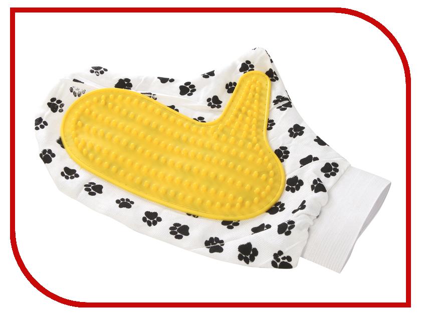 Расческа для животных Pet Fashion Варежка - пуходерка пуходерка v i pet большая с длинным зубом