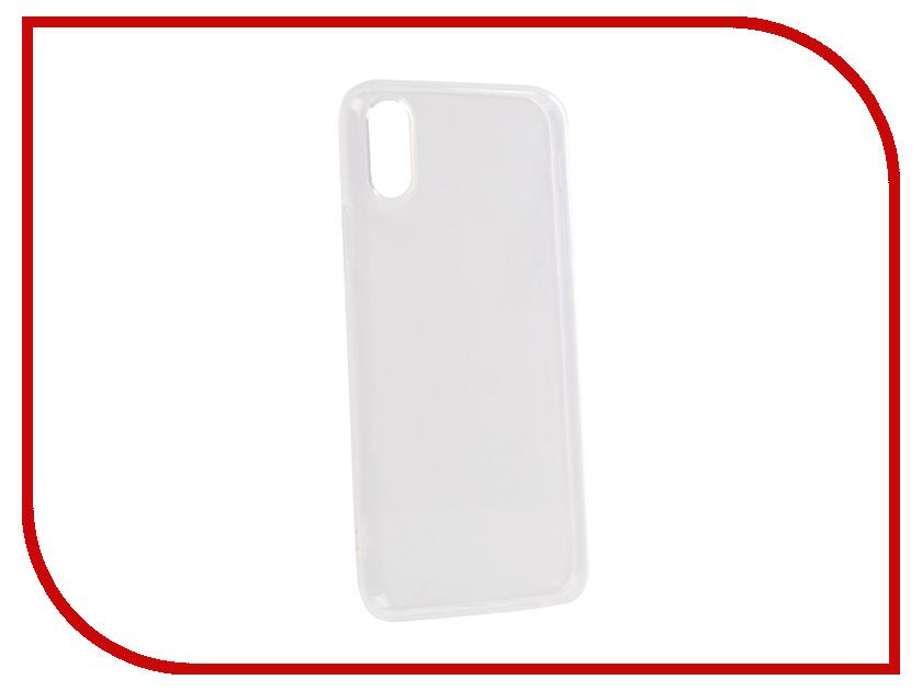 Аксессуар Чехол для APPLE iPhone XR Onext Silicone Transparent 70670 аксессуар чехол onext silicone для apple iphone x transparent 70524