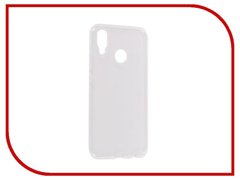 Аксессуар Чехол для Huawei P20 Lite Onext Silicone Transparent 70582 аксессуар чехол для nokia 6 2018 onext silicone transparent 70575