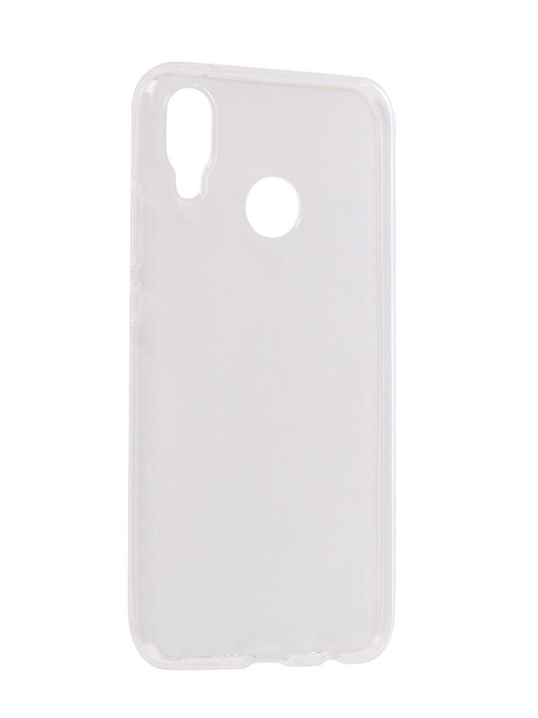 Аксессуар Чехол Onext для Huawei P20 Lite Silicone Transparent 70582 аксессуар чехол onext для huawei p20 pro 2018 black 70679
