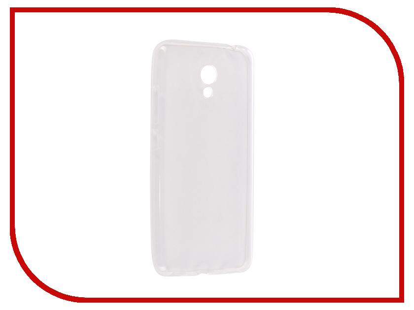 Аксессуар Чехол для Meizu M5c Onext Silicone Transparent 70548 аксессуар аксессуар чехол для xiaomi note 4 onext silicone transparent 70501