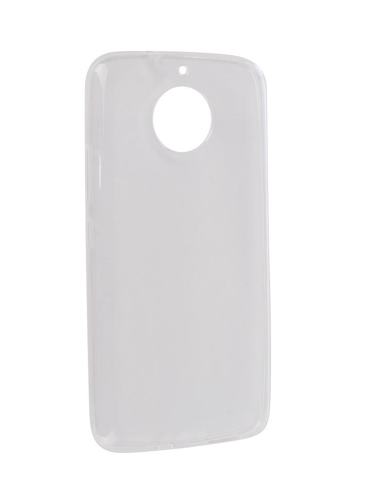 Аксессуар Чехол Onext для Motorola Moto G5S Silicone Transparent 70525