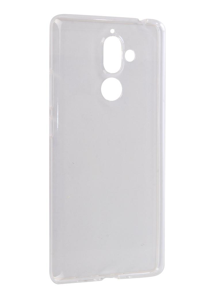 Аксессуар Чехол Onext для Nokia 7 Plus Silicone Transparent 70576 аксессуар чехол onext для nokia 6 2018 silicone transparent 70575