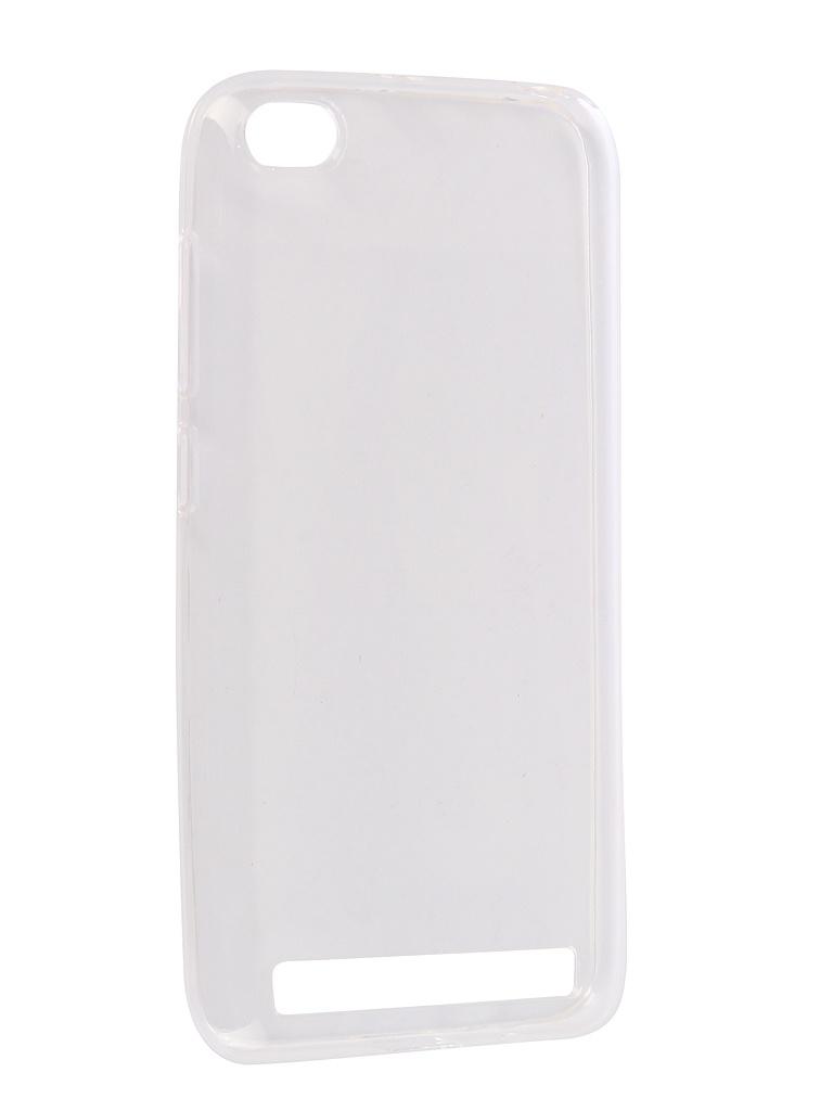 Аксессуар Чехол Onext для Xiaomi Redmi 5A Silicone Transparent 70583 аксессуар чехол для xiaomi redmi 5a ibox crystal silicone transparent