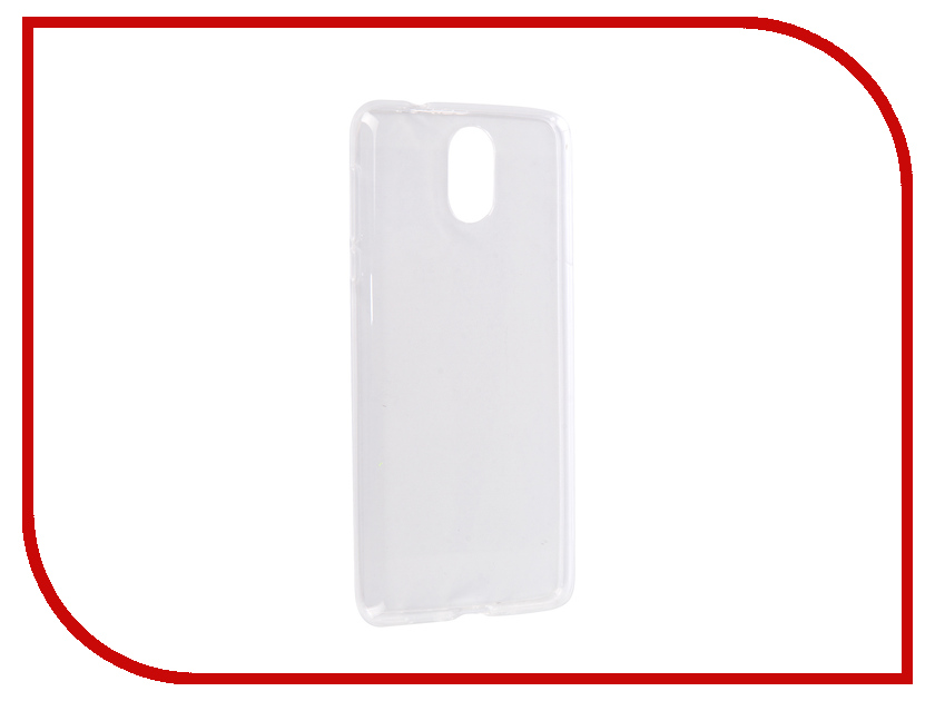Аксессуар Чехол для Nokia 3.1 2018 Onext Silicone Transparent 70623 аксессуар чехол для nokia 6 2018 pero silicone transparent