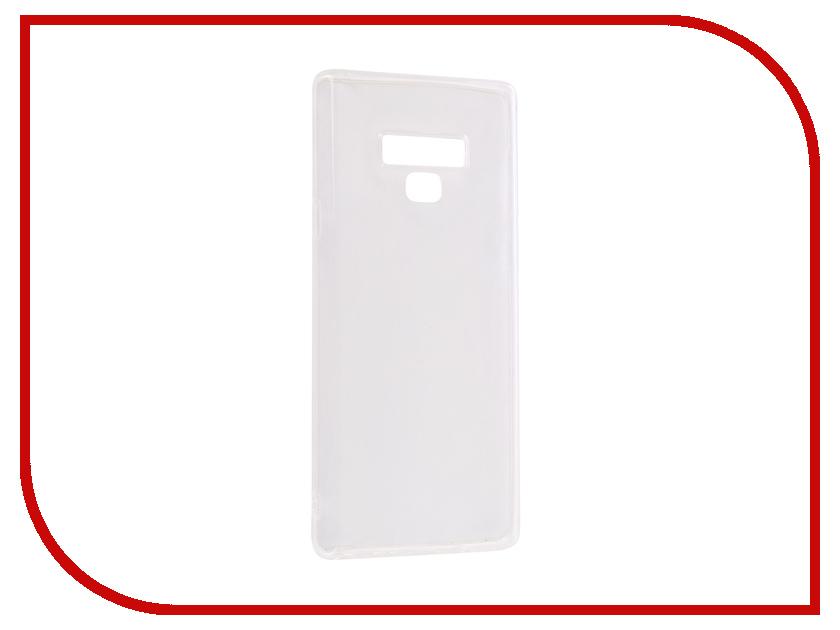 Аксессуар Чехол для Samsung Galaxy Note 9 2018 Onext Silicone Transparent 70621