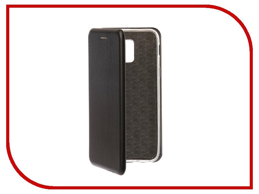 Аксессуар Чехол для Samsung Galaxy A6 2018 Onext Black 70684 аксессуар чехол samsung j3 2017 j330f zibelino clear view black zcv sam j330 blk