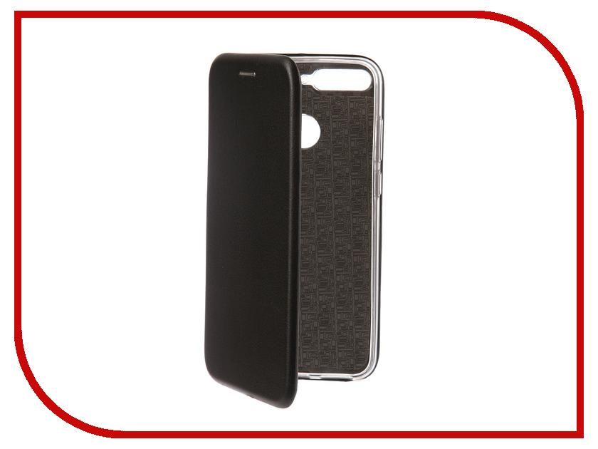 Аксессуар Чехол для Huawei Y6 Prime 2018 Onext Black 70675 аксессуар защитное стекло для huawei y6 y6 prime 2018 onext 3d black 41779