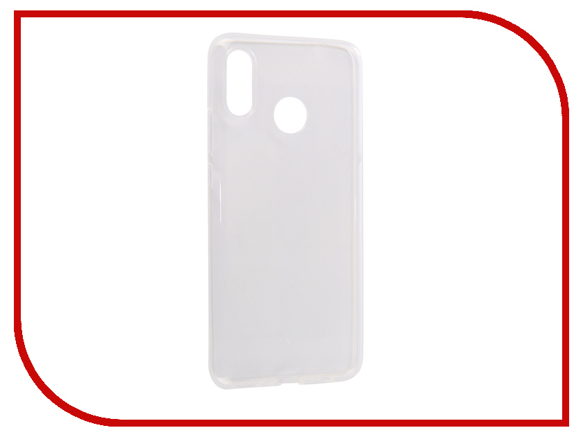 Аксессуар Чехол для Huawei Nova 3 Media Gadget Essential Clear Cover Transparent ECCHN3TR