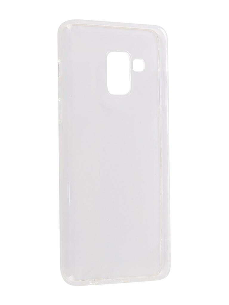 Чехол CaseGuru для Samsung Galaxy A8 2018 Liquid 1mm 101745