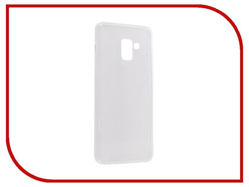 Аксессуар Чехол CaseGuru для Samsung Galaxy A8 Plus 2018 Liquid 1mm 101746