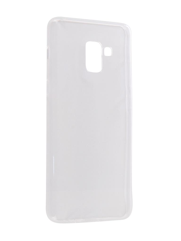 Аксессуар Чехол CaseGuru для Samsung Galaxy A8 Plus 2018 Liquid 1mm 101746 аксессуар чехол для honor 7a y5 prime 2018 caseguru liquid 1mm 104153