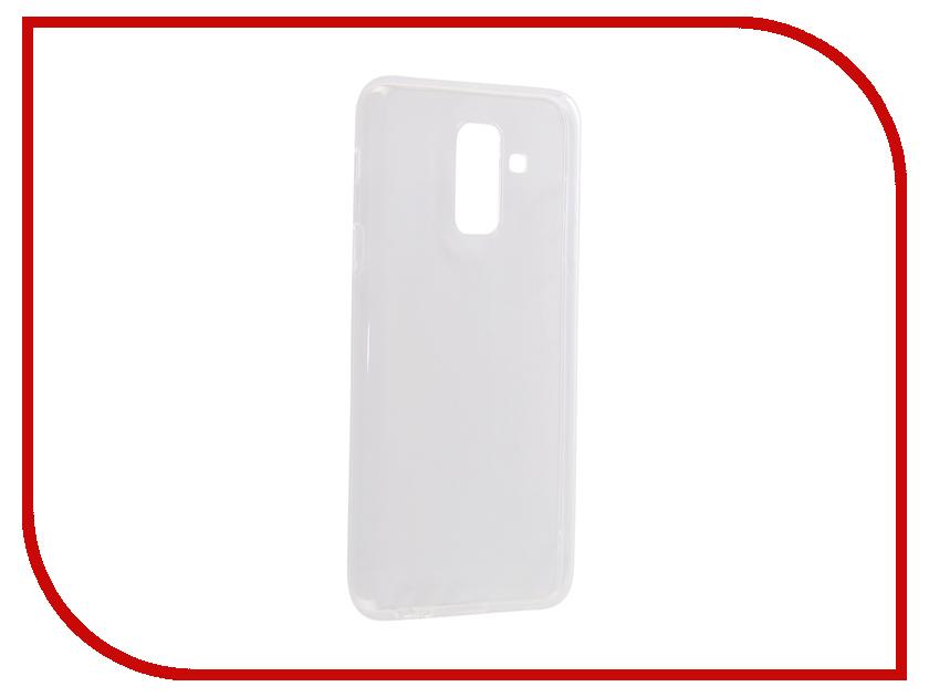 Аксессуар Чехол для Samsung Galaxy A6 Plus\J8 2018 CaseGuru Liquid 1mm 103293 аксессуар чехол для huawei honor 10 caseguru liquid 1mm 103450