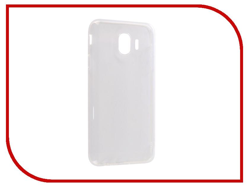 Аксессуар Чехол для Samsung Galaxy J4 2018 CaseGuru Liquid 1mm 103295 аксессуар чехол для huawei honor 10 caseguru liquid 1mm 103450