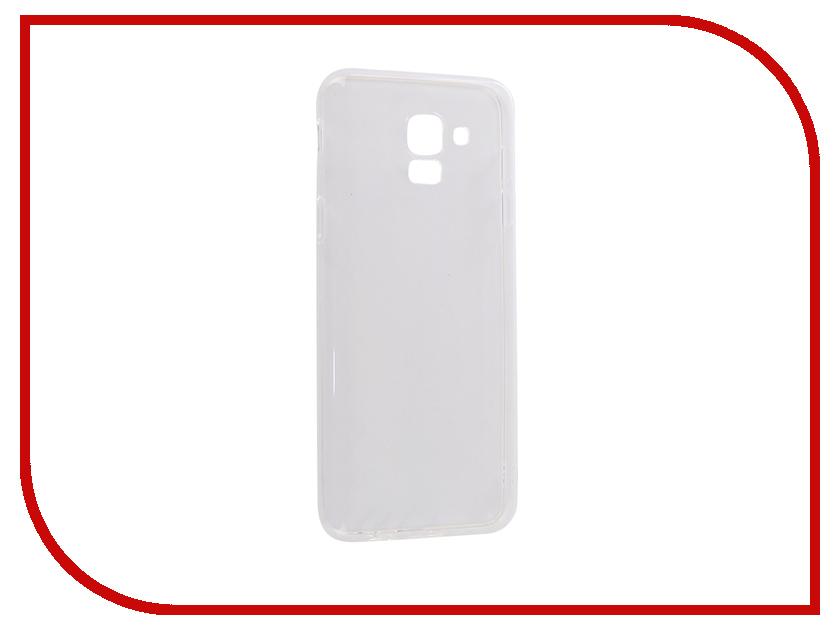 Аксессуар Чехол для Samsung Galaxy J6 2018 CaseGuru Liquid 1mm 103294 аксессуар чехол для huawei honor 9 caseguru liquid 1mm 99516