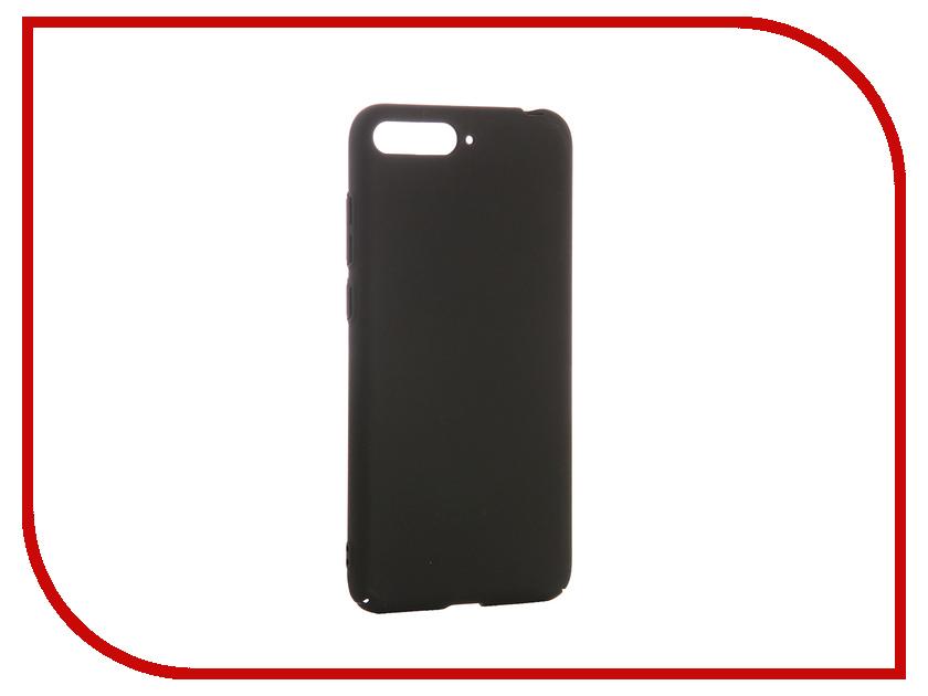 Аксессуар Чехол для Huawei Y6 2018 CaseGuru Soft-Touch 0.3mm 103301