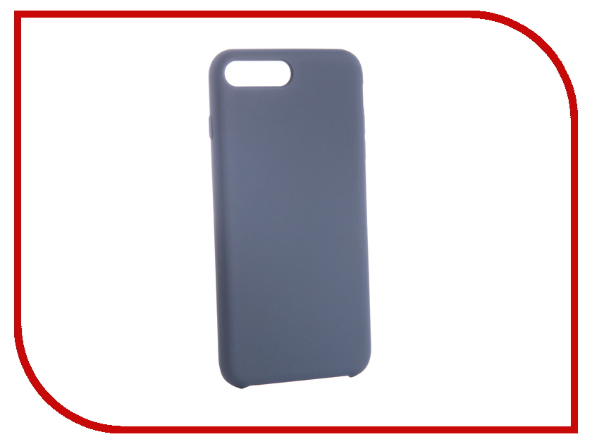 Аксессуар Чехол для APPLE iPhone 7/8 Plus CaseGuru Soft-Touch 0.5mm Blue Cobalt 103345 new 7 inch case touch screen for supra m741 m742 tablet touch panel digitizer glass sensor replacement free shipping