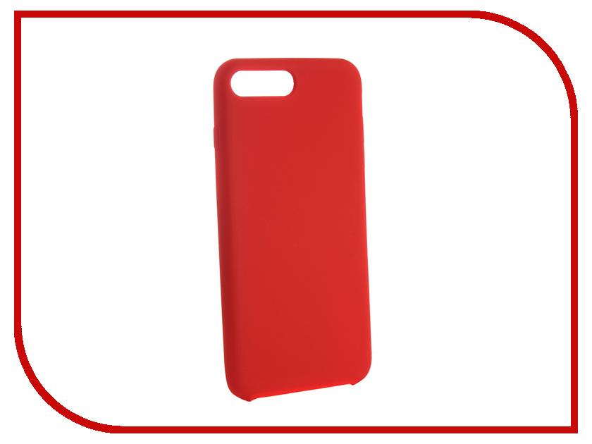 Аксессуар Чехол для APPLE iPhone 7/8 Plus CaseGuru Soft-Touch 0.5mm Red 103346 аксессуар чехол neypo soft touch для apple iphone 8 plus 7 plus gold st3341