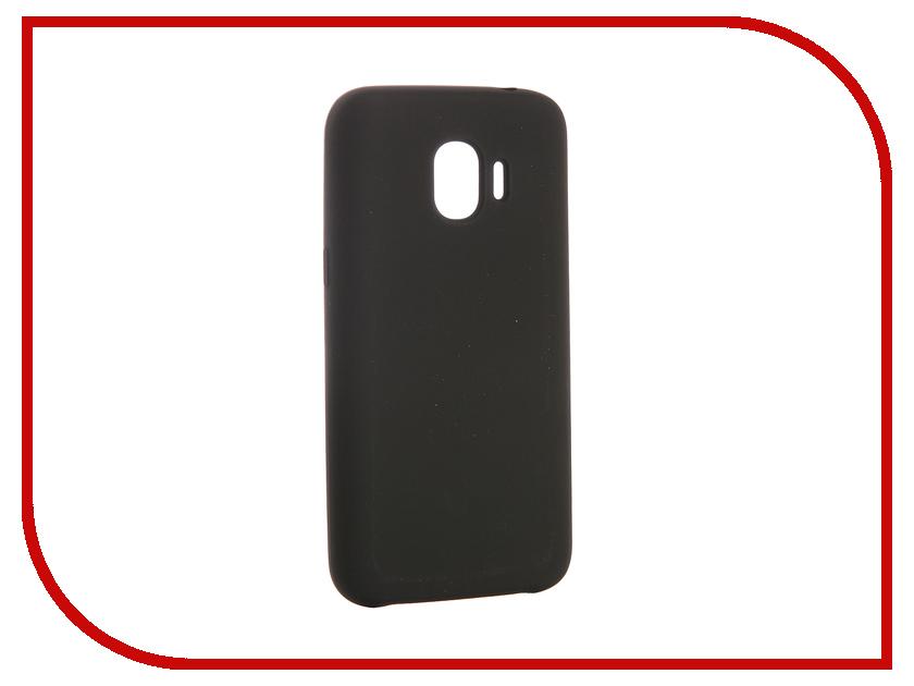 Аксессуар Чехол для Samsung Galaxy J2 2018 CaseGuru Soft-Touch 0.5mm Black 103329 аксессуар чехол caseguru soft touch для apple iphone x 101604