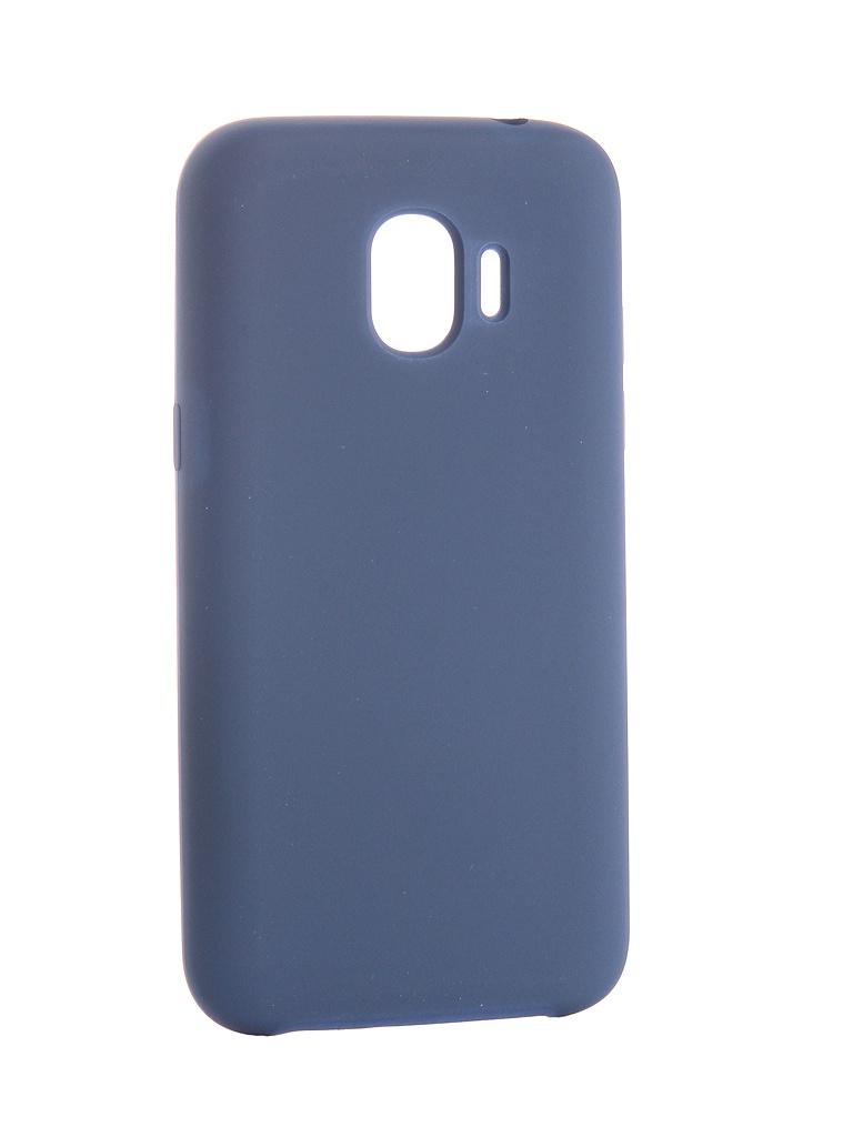 Аксессуар Чехол CaseGuru для Samsung Galaxy J2 2018 Soft-Touch 0.5mm Blue Cobalt 103330