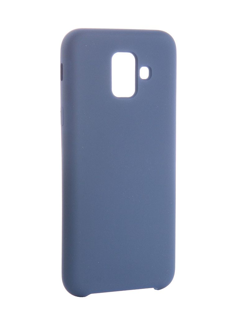 Аксессуар Чехол CaseGuru для Samsung Galaxy A6 Soft-Touch 0.5mm Blue Cobalt 103333