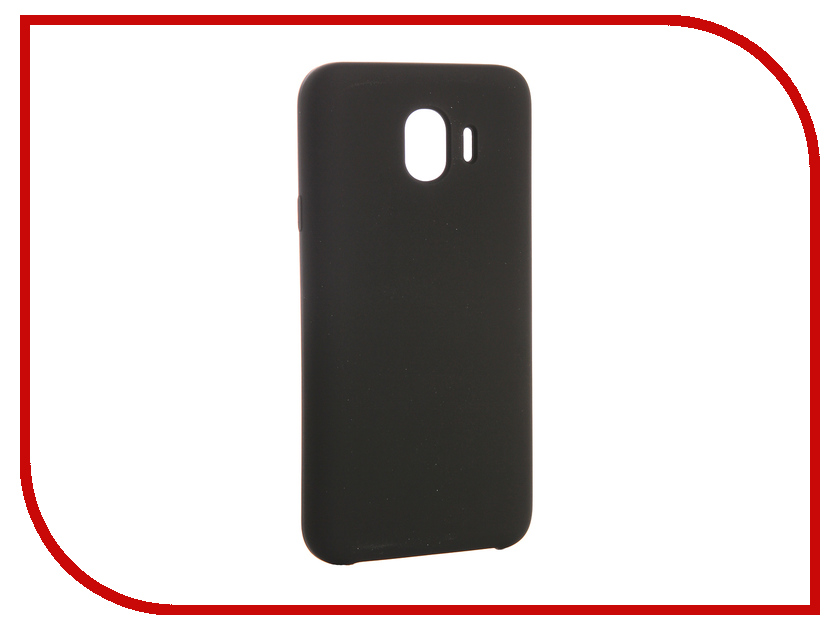 Аксессуар Чехол для Samsung Galaxy J4 CaseGuru Soft-Touch 0.5mm Black 103336