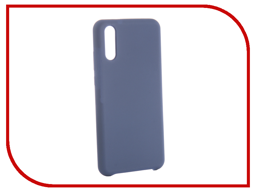 Аксессуар Чехол для Huawei Honor P20 CaseGuru Soft-Touch 0.5mm Blue Cobalt 103348