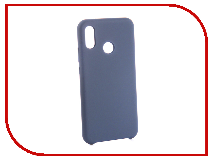 Аксессуар Чехол для Huawei P20 Lite CaseGuru Soft-Touch 0.5mm Blue Cobalt 103350 original new 10 1 inch resistive touch screen four wire industrial 4 touch single chip 233 141