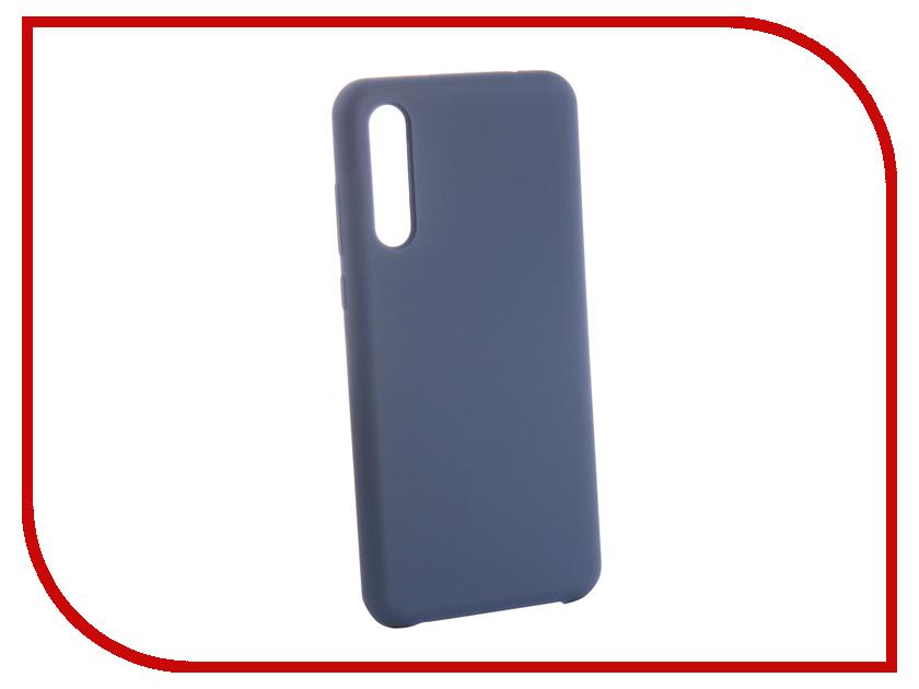 Аксессуар Чехол для Huawei Honor P20 Pro CaseGuru Soft-Touch 0.5mm Blue Cobalt 103352 аксессуар чехол huawei honor view 10 protective cover blue 51992306