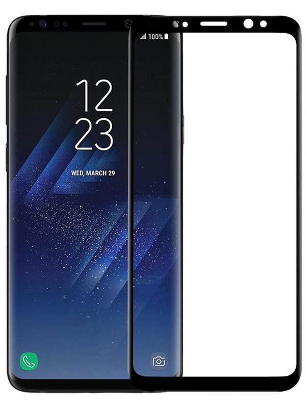 Аксессуар Защитное стекло для Samsung Galaxy S8/S9 Plus CaseGuru 3D Full Glue 0.33mm Black 103422 аксессуар защитное стекло caseguru для samsung note 9 3d full glue 0 33mm black 104599