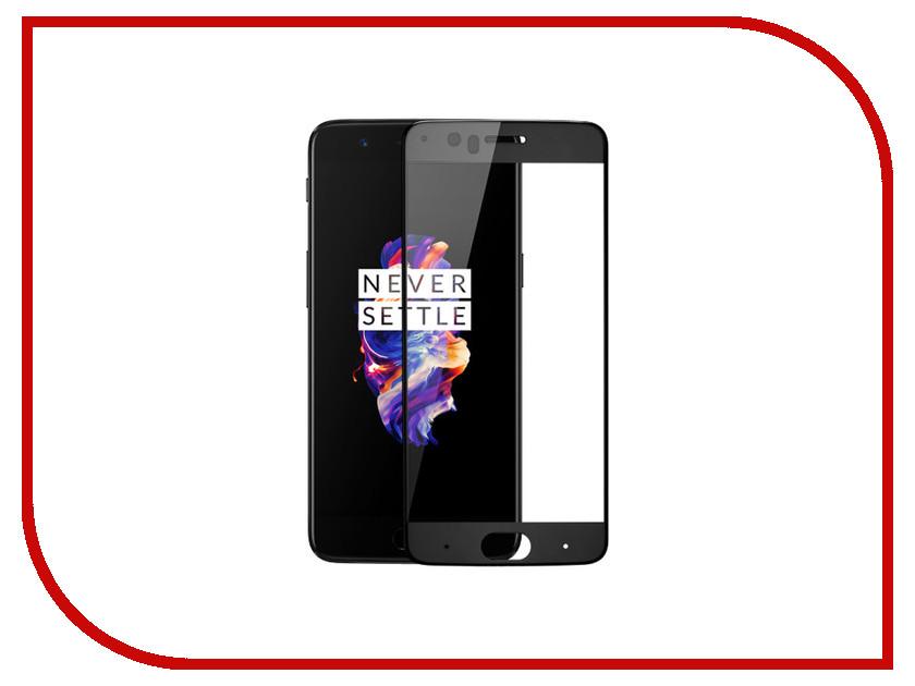 Аксессуар Защитное стекло для OnePlus 5 CaseGuru Full Screen 0.33mm Black 100194 free dhl 5pcs lcd screen display touch panel digitizer with frame for oneplus x one e1001 white black free shipping