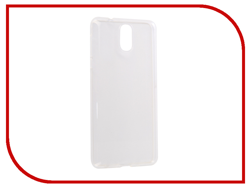 Аксессуар Чехол для Nokia 3.1 2018 Media Gadget Essential Clear Cover Transparent ECCN3D1TR