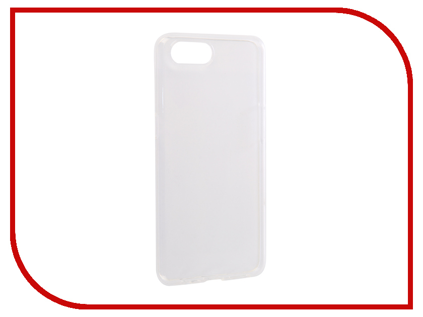 цена на Аксессуар Чехол для OPPO A3s Media Gadget Essential Clear Cover Transparent ECCOA3STR