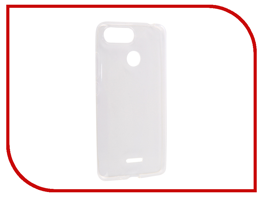 Аксессуар Чехол для Xiaomi Redmi 6 Media Gadget Essential Clear Cover Transparent ECCXR6TR цена