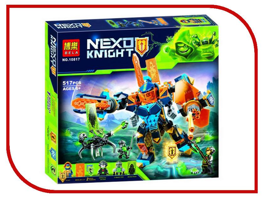 Конструктор Bela Nexo Knights Решающая битва роботов 517 дет.10817 bering 10817 262