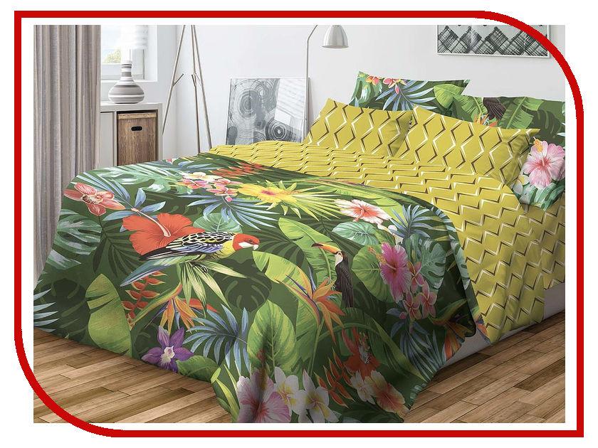 Постельное белье Волшебная ночь Фьюжн Tropic Комплект Семейный Наволочки 70x70 Ранфорс 717477 цены онлайн